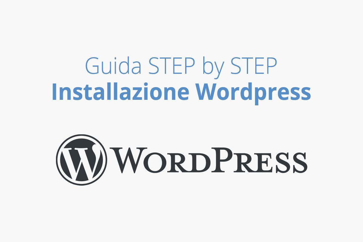 Guida installazione WordPress