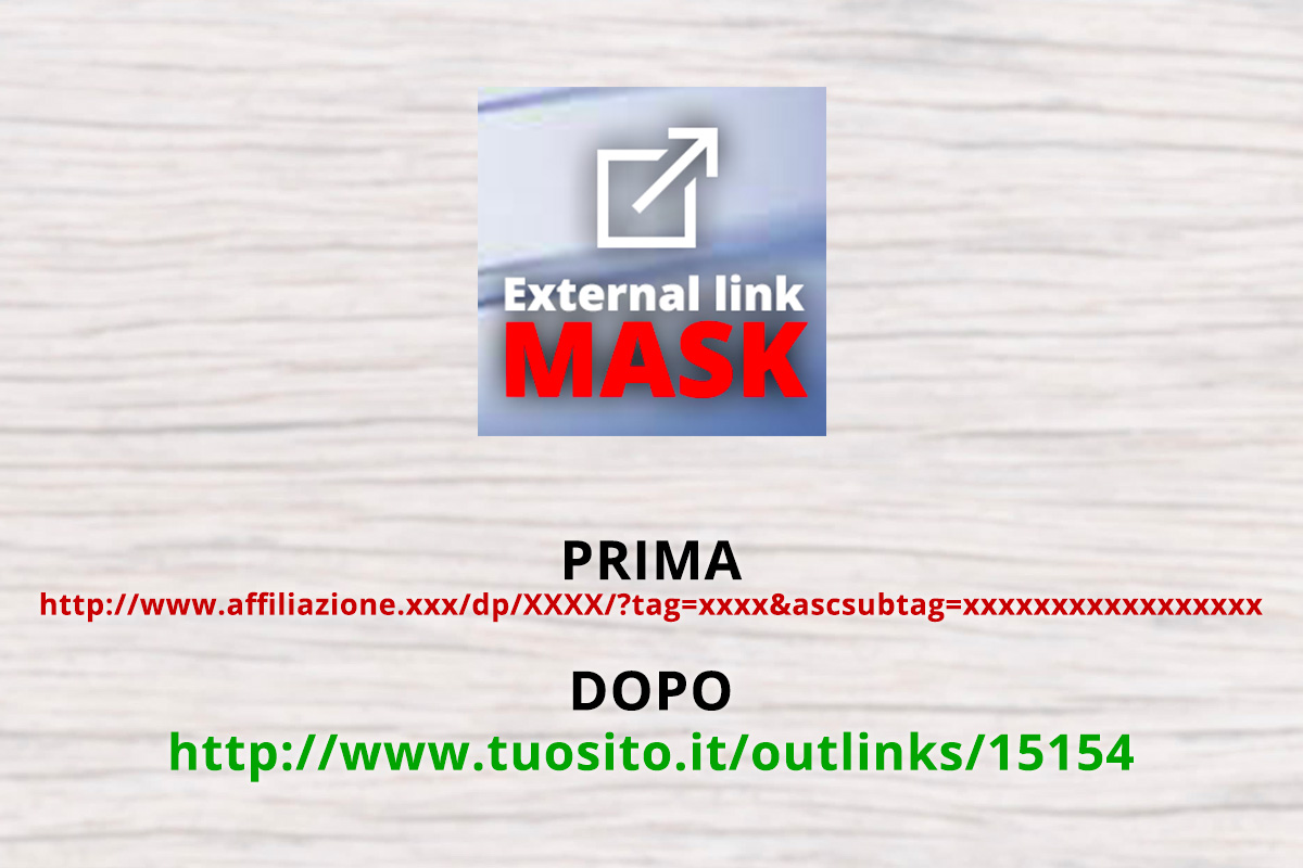 Mascherare link esterni di affiliazione Wordpress