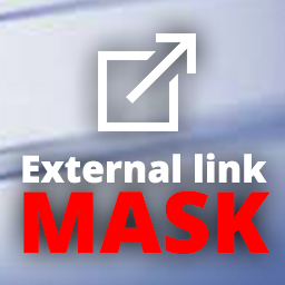 Plugin External Link Mask icona